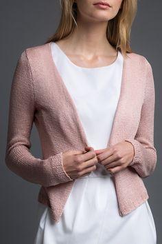 Free Knitting Pattern: Summer Cardigan – Initiative Handarbeit by initiativehanda Crochet Pullover Pattern, Poncho Knitting Patterns, Free Knitting, Knit Crochet, Crochet Patterns, Diy Mode, Summer Cardigan, Moda Fashion, Fashion Wear