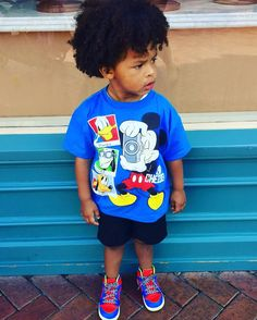 Yesterday's Disney Swag #babyrobin #handsomerob #robdiddy #blaxican #mixedkids #mixedbabies #blaxicansofla #devacurlbaby #naturalcurls #babyswag #jordans #disneyland #disneyswag #disneyapholder #mickeyandfriends #idostuff #terrorsquad #hustlemanagement #allthewayup #loyaltyapproved by msloyaltyts