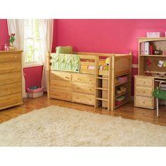 Matrix Low Loft Storage Bed