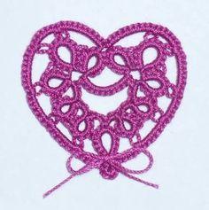Résultats de recherche d'images pour «tatting heart»
