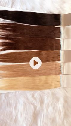 Liquorice Black Chocolate Brown Chestnut Brown Mocha Brown Barbie Blonde  Fairy Blonde #Ladies & #Divas meet the #Amandalola Tape In Hair #Extensions in all SIX different #colours and #shades.