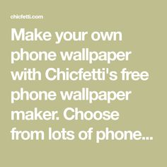 Phone Wallpaper Maker