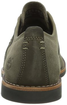 ee0310f9eb2ed Timberland CA19GH Mens Brooklyn Park Leather Oxford Color Gray Size  9.5W  US