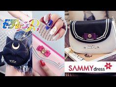 COMPRAS ANIME | SAILOR MOON | AKARI BEAUTY Kawaii Style, Kawaii Clothes, Sammy Dress, Kawaii Fashion, Sailor Moon, Anime, School, Shopping, Kawaii Outfit