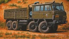 Offroad, Military Art, Military Vehicles, Techno, Countries, Trucks, Camping, Travel, Historia