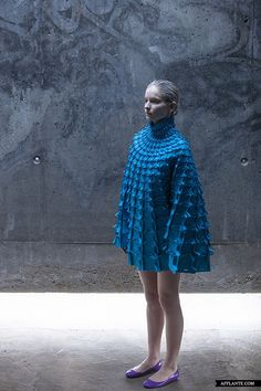'Object 12-1′ Experimental Fashion Collection // Matija Čop | Afflante.com. Architectural and modular.
