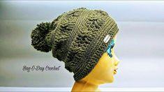 53488fa9236514 How To Crochet - SLOUCHY HAT   The Joshua Tree Beanie   BAGODAY Crochet  Tutorial #461