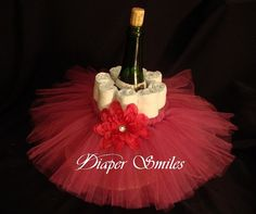 Centerpiece Baby Shower Tutu Set of 8