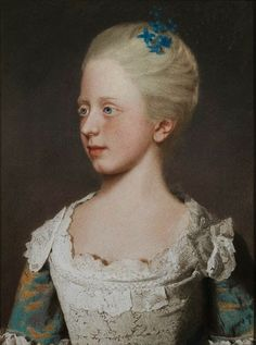 Princess Elizabeth by Jean-Étienne Liotard, 1754