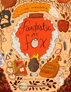 Wes Anderson's Fantastic Mr Fox, an art print by Natalie Andrewson