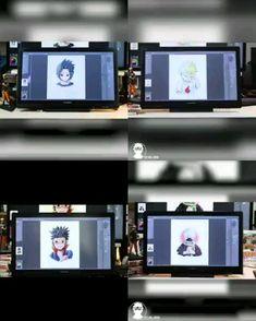 I love how these amazing videos by Tamara Jensen.draw came out 😆🔥 Visit Our Website for Naruto Gif, Naruto Comic, Naruto Cute, Naruto Shippuden Sasuke, Naruto Sasuke Sakura, Sarada Uchiha, Kakashi, Video Naruto, Konoha Naruto
