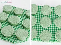 St. Patty's day inspired green mint marshmallows {sugar-free}