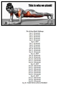 アメリカで2大流行となった30日チャレンジのうち、1つは先日ご紹介した【30日スクワットチャレンジ】 そして残る一つはこれ! 【30日プランクチャレンジ】! 食事制限でもサプリメントでもなく、自分自身の体幹を鍛えフィットボディーに導く効果的なウォークアウト。 期限を決めてやる事でモチベーションも保ち