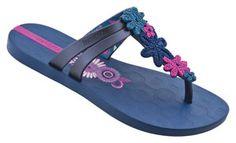 iPANEMA ritmo thong: blue/pink at Agua Viva USA