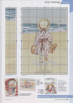 ru / Фото - The world of cross stitching 167 - tymannost Cross Stitch Sea, Small Cross Stitch, Cross Stitch For Kids, Cute Cross Stitch, Cross Stich Patterns Free, Loom Patterns, Cross Stitch Designs, Cross Stitching, Cross Stitch Embroidery