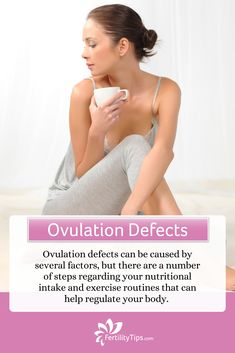 Ovulation defects refer to irregular ovulation or ovulation that does not occur at all in women who have not yet reached menopause. While there are several factors that can cause ovulation defects there are also a number of actions you can take to help overcome ovulation issues before and during fertility treatment. Click here, to find out what they are so you can start taking the right steps toward regulating your body's cycles and ovulation patterns. What Is Stress, Irregular Menstrual Cycle, Caffeine And Alcohol, How To Regulate Hormones, Cervical Mucus, Causes Of Infertility, Fertility Problems