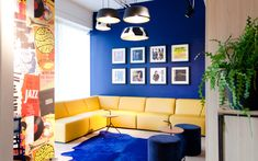 You can find the kick ass niu Dairy in the city centre of Haarlem. The interior design is inspired by the dairy that was located on this site. Designed by Mulderblauw Art Deco Living Room, Skateboard Store, Hotel Branding, Source Of Inspiration, Contemporary, Modern, Light Colors, Hotels, Lounge