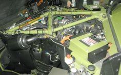 Il veicolo, 4×4 a propulsione ibrida, è spinto da un motore Ford V8 Diesel bi-turbo da 4,4 litri e 268 CV abbinato a una trasmissione automatica a 6 rapporti collegata all'asse posteriore, mentre un'unità elettrica, alimentata da una batteria agli ioni di litio ad alta energia e densità di potenza da 22,5 kWh, fornisce la coppia motrice alle ruote anteriori. L'intero sistema di propulsione è dotato di tecnologia Start e recupero di energia cinetica in fase di decelerazione e frenata
