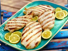 Grilled Chicken recipe from Ree Drummond via Food Network