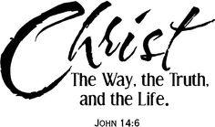Christ alone...