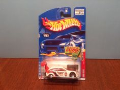Hot Wheels Ford Focus #63 Tuners #1 of 4 2002 White Pro Stock w/ Lace Wheels…