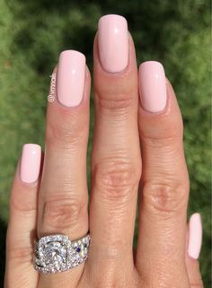 Essie - Fiji - a classic creamy pale pink manicure. Light pink nails. #FunNailArt