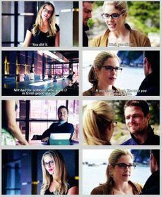 Arrow - Oliver & Felicity #2.1 #2.23 #Season2 #Olicity