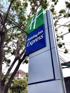Holiday Inn Express Bali Raya Kuta Signage.   For more details: www.holidayinnexpress.com/indonesia or www.holidayinnexpress.com/balirayakuta