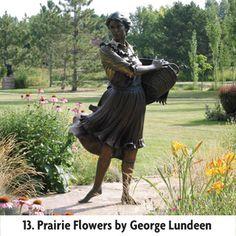 Benson Gardens Scupture Garden in Loveland Colorado