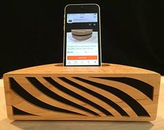Acoustic Art by Jay Roberts Phone Amplifier Passive Amp
