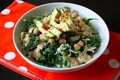 Healthy Hits the Spot   Such A Good Kale Salad, And I Don't Even Like Kale!   http://www.healthyhitsthespot.com