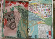 Pam Garrison art journal