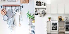 Resultado de imagem para pendurar talheres na cozinha