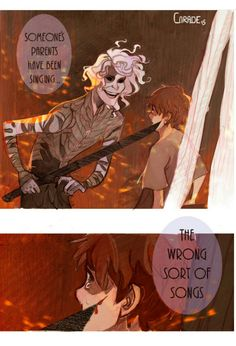 Kvothe meets Cinder by Corade on Tumblr
