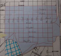 The blue shaded area shows the boundaries for the Rev. Willis Black Wildlife Habitat project a.k.a. the Community Wildlife Habitat Project, West Edge District. The Rev, Habitats, The Neighbourhood, Create Yourself, Wildlife, Community, Projects, Blue, Log Projects