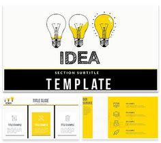 Idea of Planning Applications Keynote template - themes  Presentation