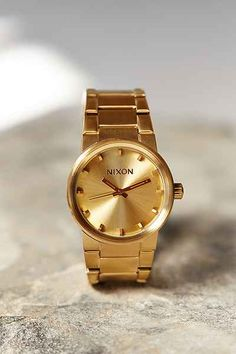 $150 USD Nixon Cannon Watch - Urban Outfitters #giftsforguys #giftsforboyfriends