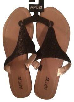 Apt. 9 Black Sandals