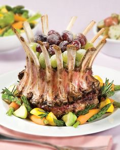 Crown Roast of Lamb Recipe ~ have always wanted to try this :)