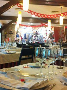 Preparación de San Valentín en Hotel el Aguila Zaragoza 3