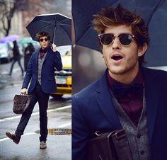Singing in the rain (by Adam Gallagher) http://lookbook.nu/look/4617417-Singing-in-the-rain