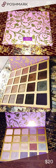 Tarte High-Performance Naturals Lightly used Tarte High-Performance Naturals palette i have not used all the shades and even the ones i have used have plenty left to use. None broken. tarte Makeup Eyeshadow