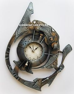 Steampunk Spiral Time by Diarment.deviantart.com on @deviantART