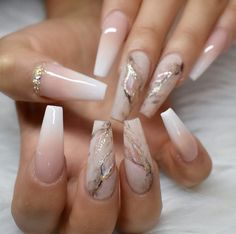Today we have 41 of the most amazing nails you have ever witnessed! All of these nails will literally blow your mind! Well, hopefully not literally but figuratively, these nails will drive you insane! Summer Acrylic Nails, Best Acrylic Nails, Acrylic Nails Coffin Ombre, Ombre French Nails, Wedding Acrylic Nails, Acrylic Nail Art, Wedding Stiletto Nails, Nails French Design, Wedding Nails
