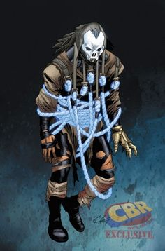 "NYCC EXCLUSIVE: Valiant Debuts All-New Shadowman Design in ""Ninjak"" #10 - Comic Book Resources"