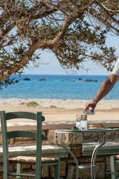 Ouzo by the sea... Naxos island