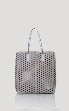 190f059ba38b Rachel Comey Punched Tote in Charcoal Kooba Handbags