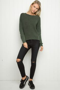 Brandy ♥ Melville | Ollie Sweater - Sweaters - Clothing