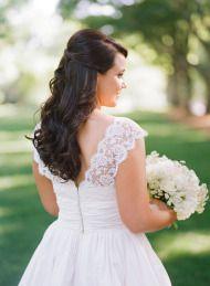 Romantic Fall Wedding at Huguenot Mill - Style Me Pretty