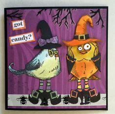Crazy Birds Halloween!